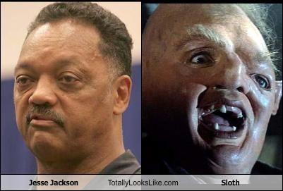 Jesse Jackson,sloth,the goonies