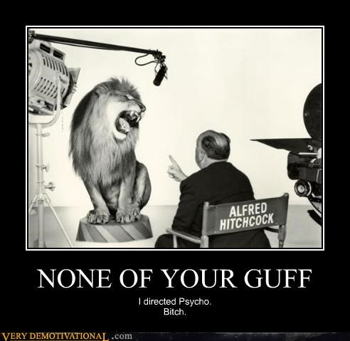 NONE OF YOUR GUFF