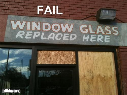 Window Replacement Fail