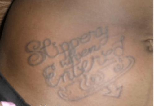 slippery,tattoos,funny