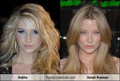 Ke$ha Totally Looks Like Sarah Roemer
