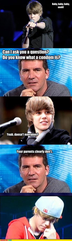 Bieber on American Idol