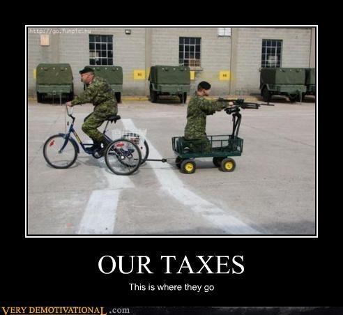 bike,cart,machinegun,military,taxes