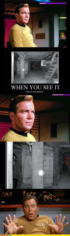 Captain Kirk,monster,Star Trek,the internet,when you see it