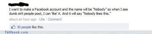 great idea,lol,status update