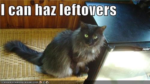 I can haz leftovers