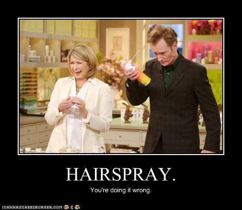 conan obrien,demotivational,funny,Martha Stewart