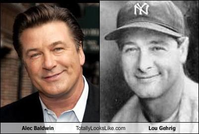 Alec Baldwin Totally Looks Like Lou Gehrig