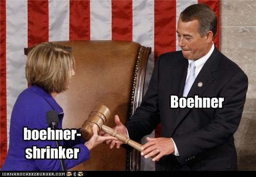 Handin' Over the Boehner Gavel