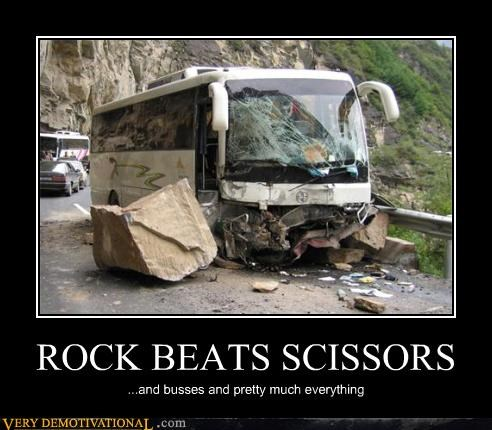 ROCK BEATS SCISSORS
