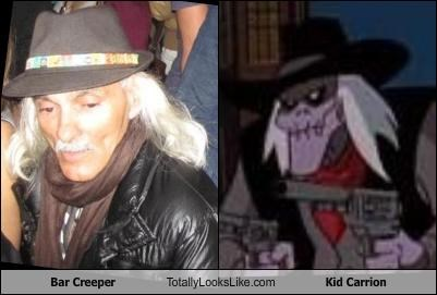 Bar Creeper Totally Looks Like Kid Carrion