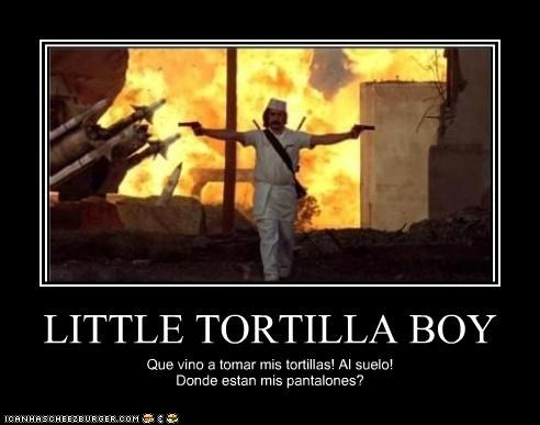 LITTLE TORTILLA BOY