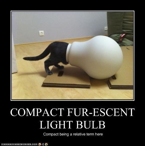 COMPACT FUR-ESCENT LIGHT BULB