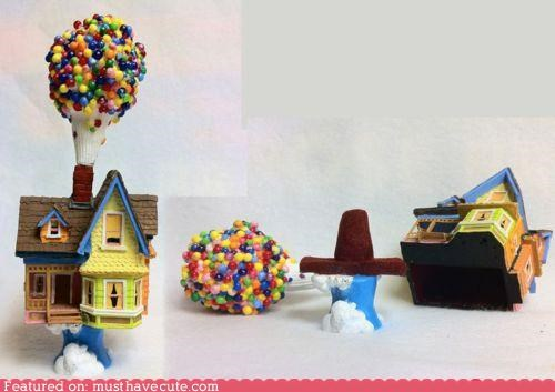 """Up!"" House Ring Box"