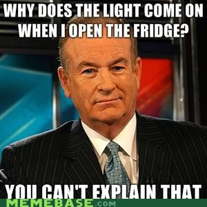 Advice O'Reilly: Fridge Light