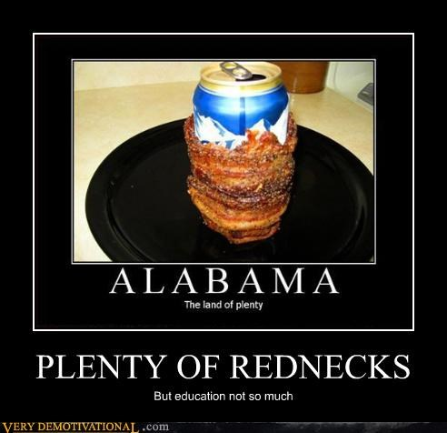 PLENTY OF REDNECKS
