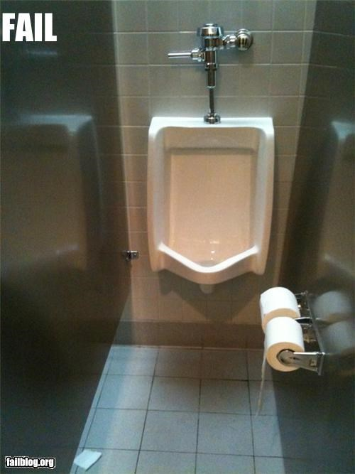 Bathroom Stall Fail
