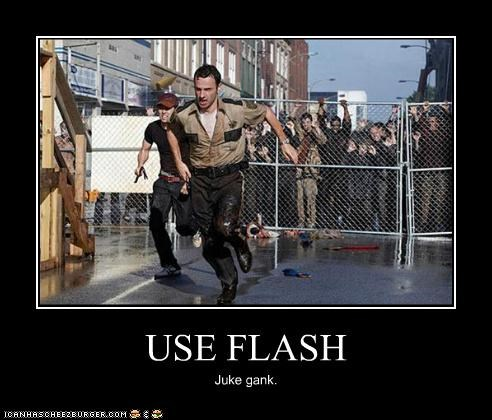 USE FLASH