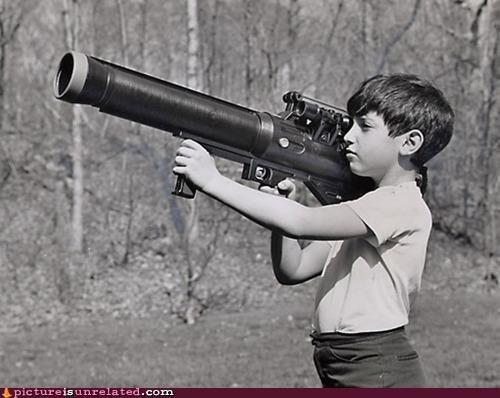 awesome,bazooka,guns,kids,vintage,wtf