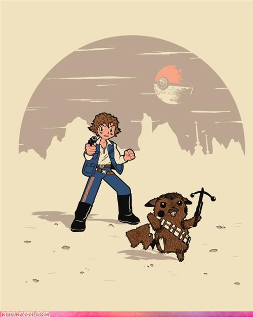 art,chewbacca,funny,Hall of Fame,Pokémon,sci fi,star wars