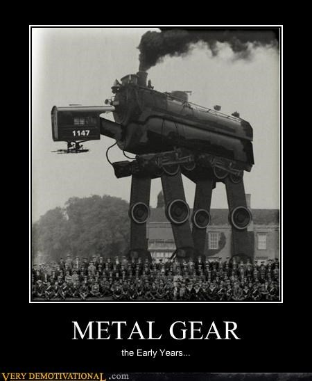 at at,metal gear,photoshop,train