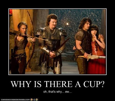 WHY IS THERE A CUP?