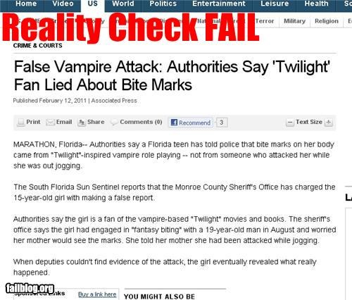 Yet ANOTHER Twilight Fail