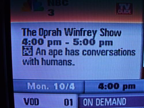 TV Show Description of the Day
