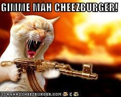 GIMME MAH CHEEZBURGER!
