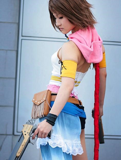 Cosplay-mate Of The Day: Yuna