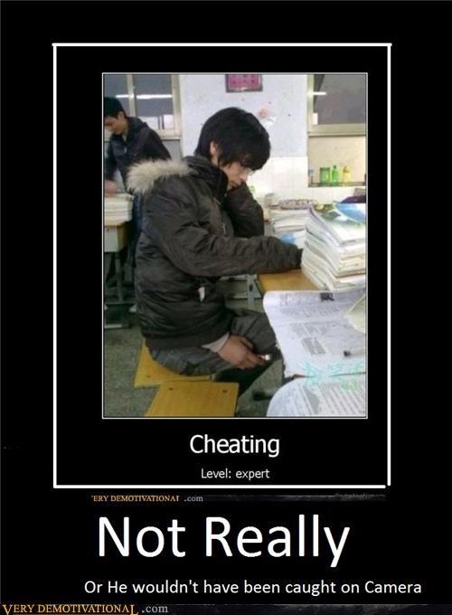 caught,camera,cheating,not really