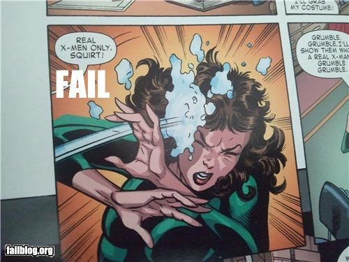 X-Men comic fail