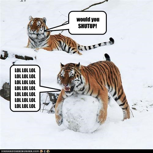 the annoying tiger