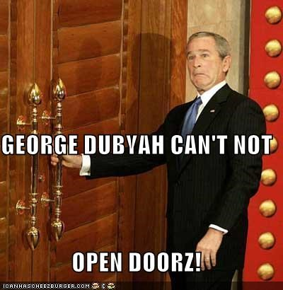 Celebriderp,China,derp,doors,george w bush,president,republican