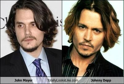John Mayer Totally Looks Like Johnny Depp
