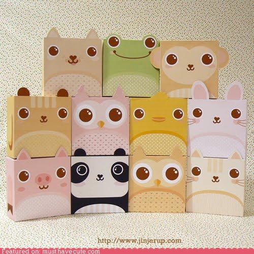 animals,decorated,gift box,wrapping