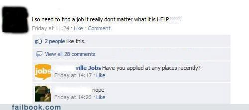Job Hunt FAIL