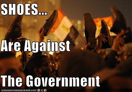 SHOES... Are Against The Government