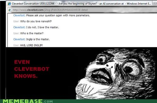 Cleverbot,inglip,the master,troll
