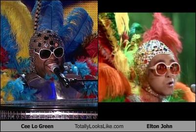 Cee Lo Green Totally Looks Like Elton John