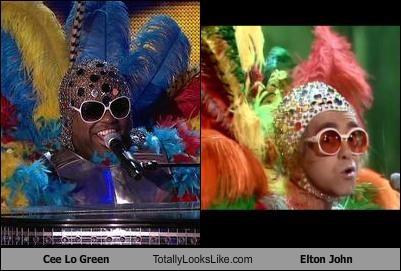 Cee Lo Green Totally Looks Like Elton John