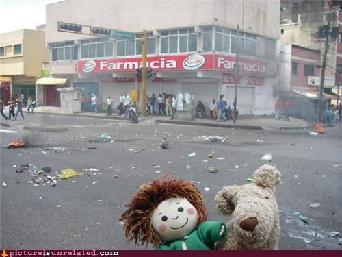 Doll Makes a Riot
