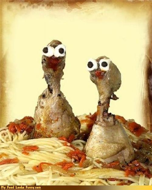 chicken,derp,faces,legs,pasta,Turkey