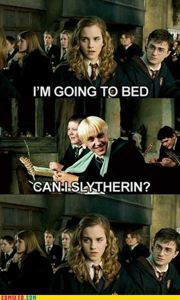 bed,Harry Potter,Hary Potter,hermione,puns,sex