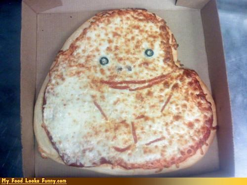 Funny Food Photos - Forever Alone Pizza