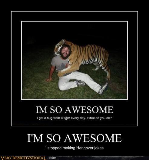 Zach Galifianakis,awesome,tiger,hangover