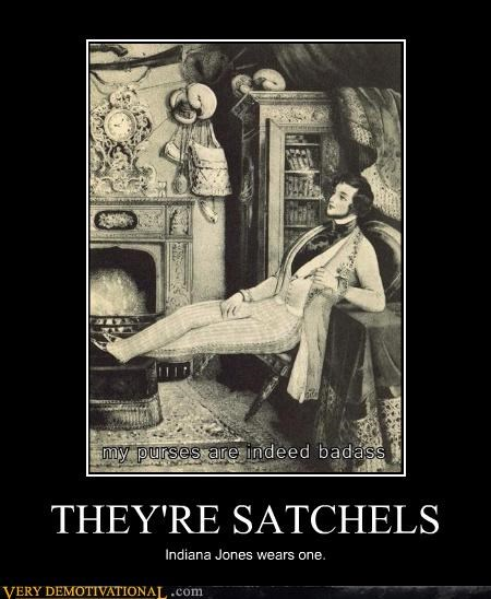 THEY'RE SATCHELS