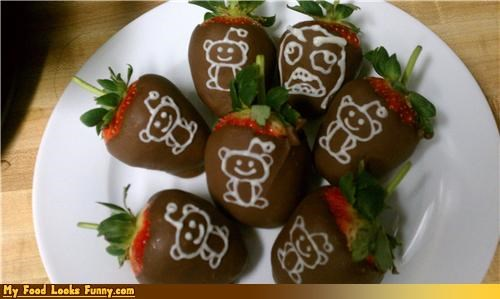 Funny Food Photos - Reddit Chocolate-Covered Strawberries