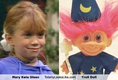 TLL Classics: Mary Kate Olsen Totally Looks Like Troll Doll