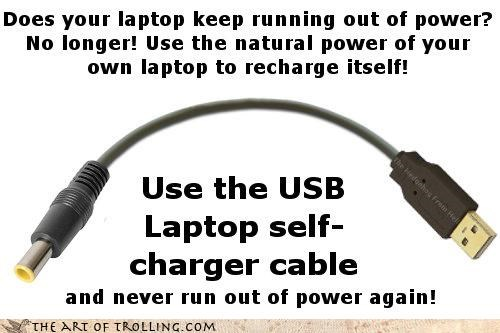 best of week,laptop,Memes,power,troll science,USB